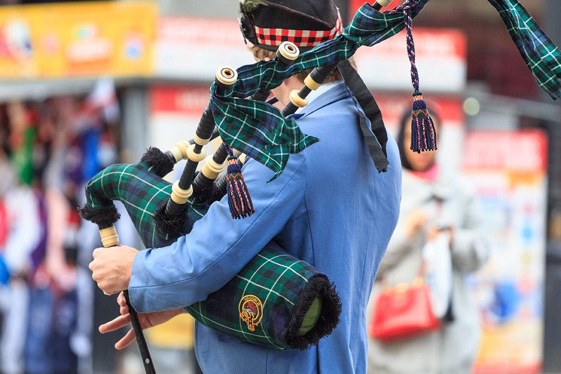Traditional Scottish Bag Pipes
