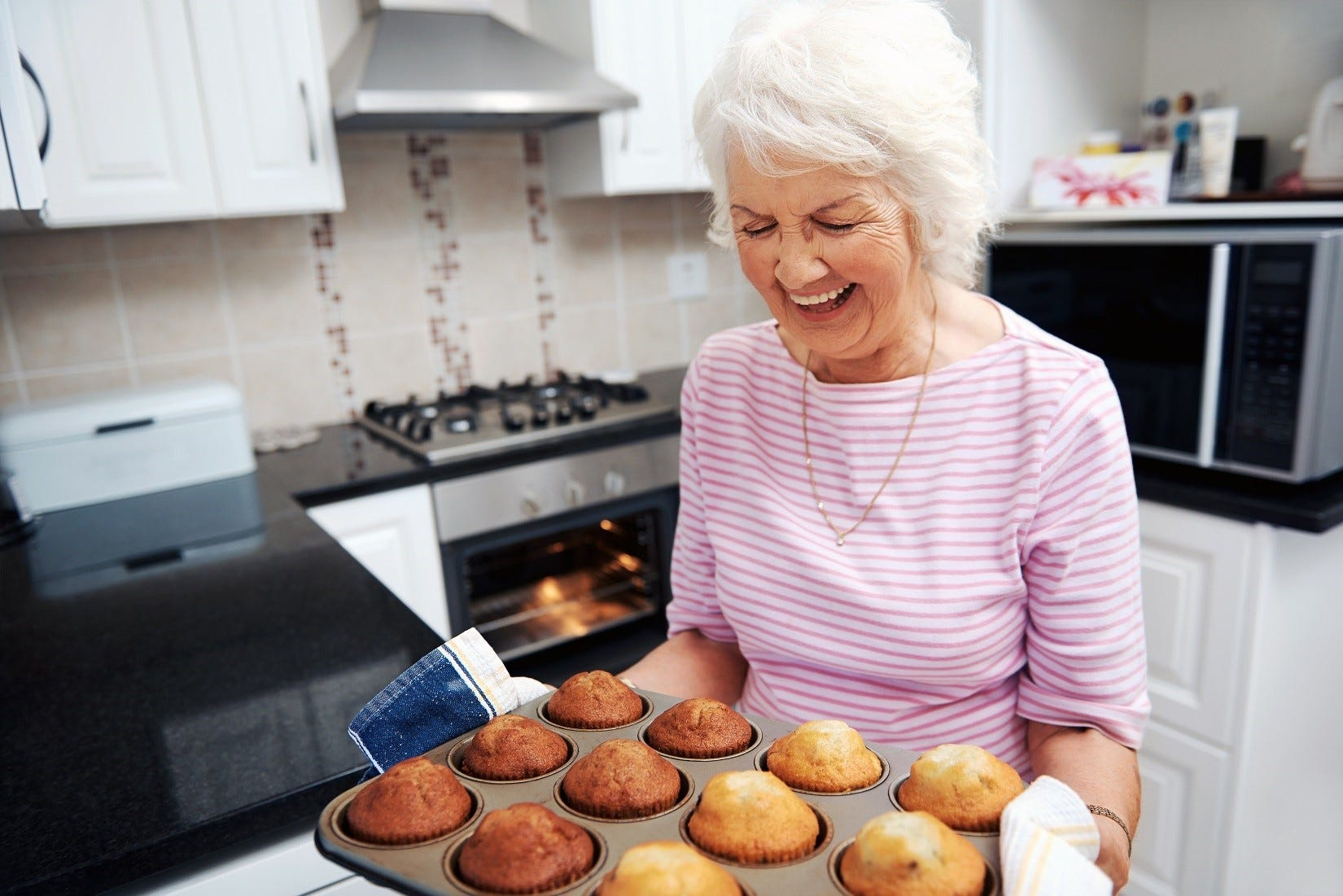 Baking is a popular indoor activity