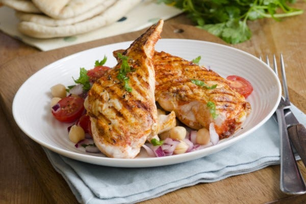 Harissa chicken salad