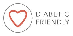 Diabetic-friendly logo