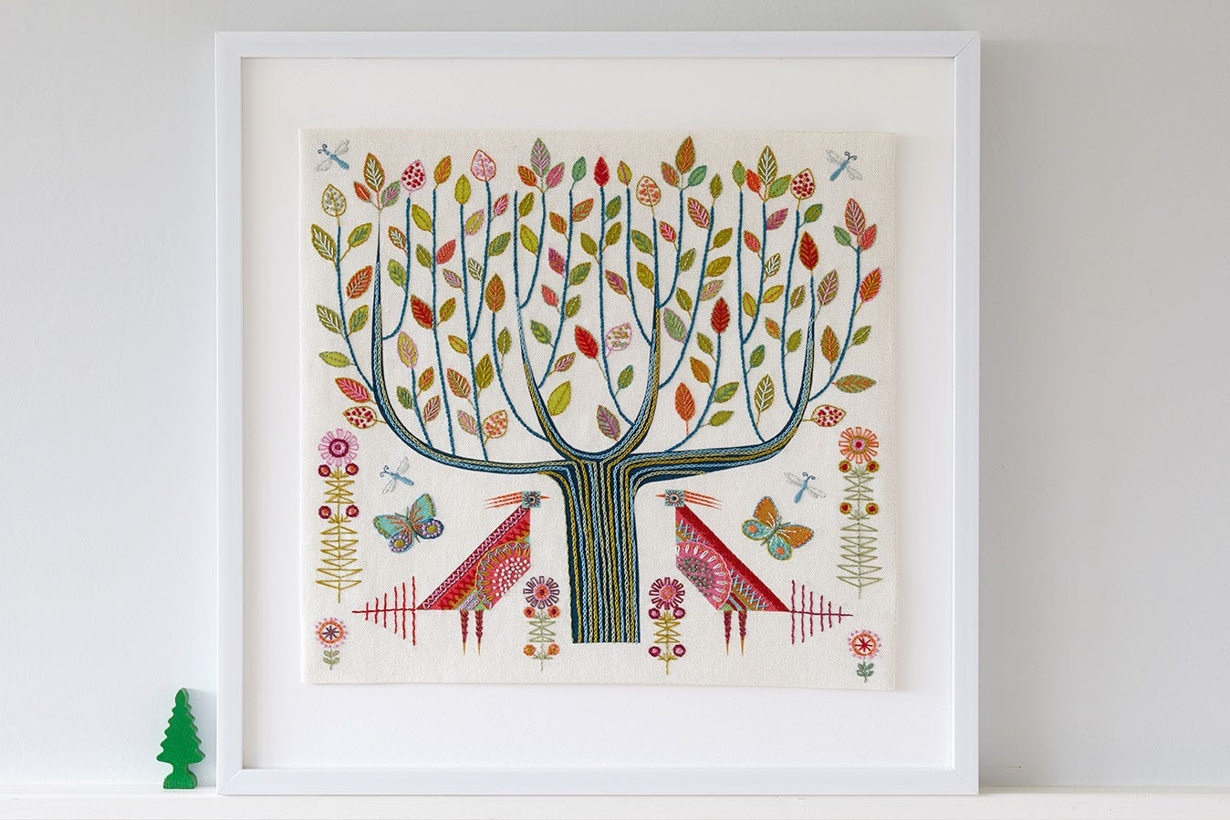 Nancy Nicholson Tree Embroidery Kit