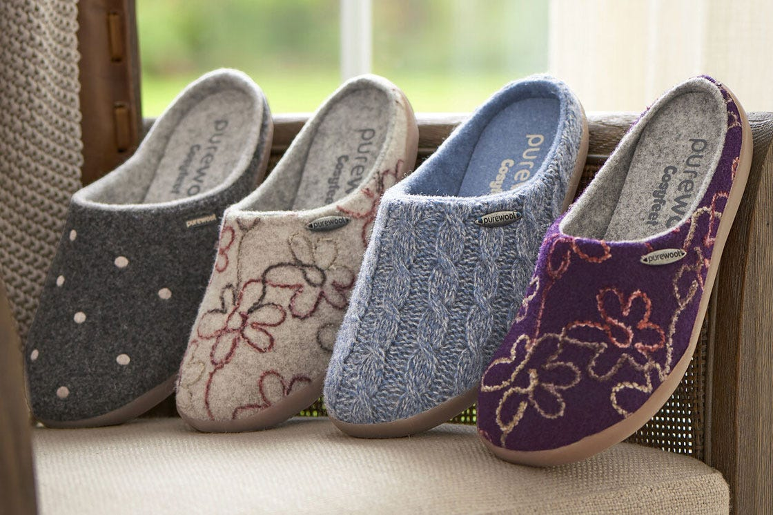 Donna Purewool™ slippers