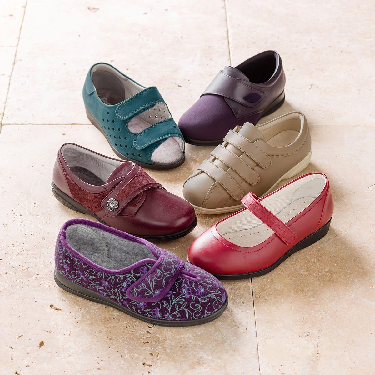 Extra Roomy Footwear