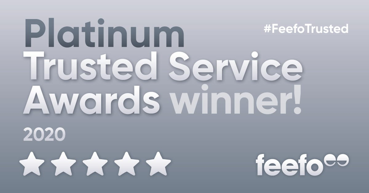 Platinum Trusted Service Award