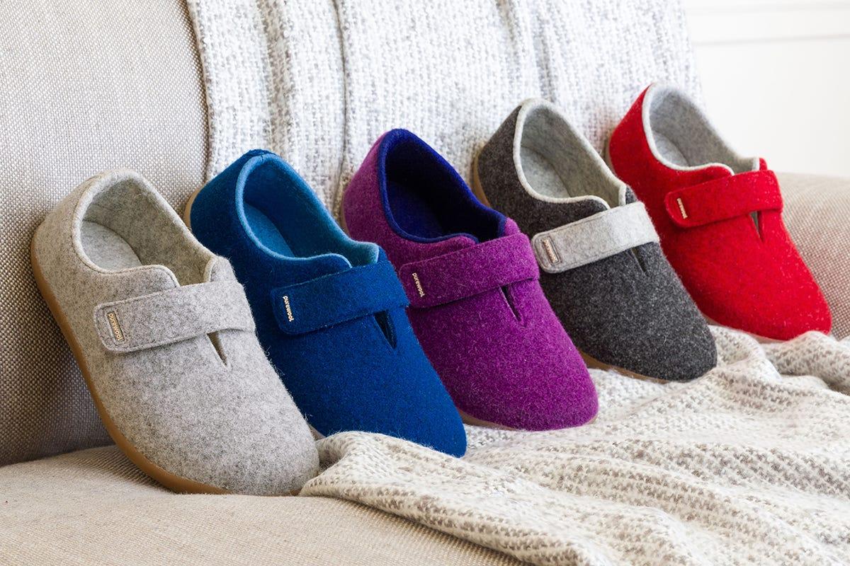 Diabetic-friendly slippers