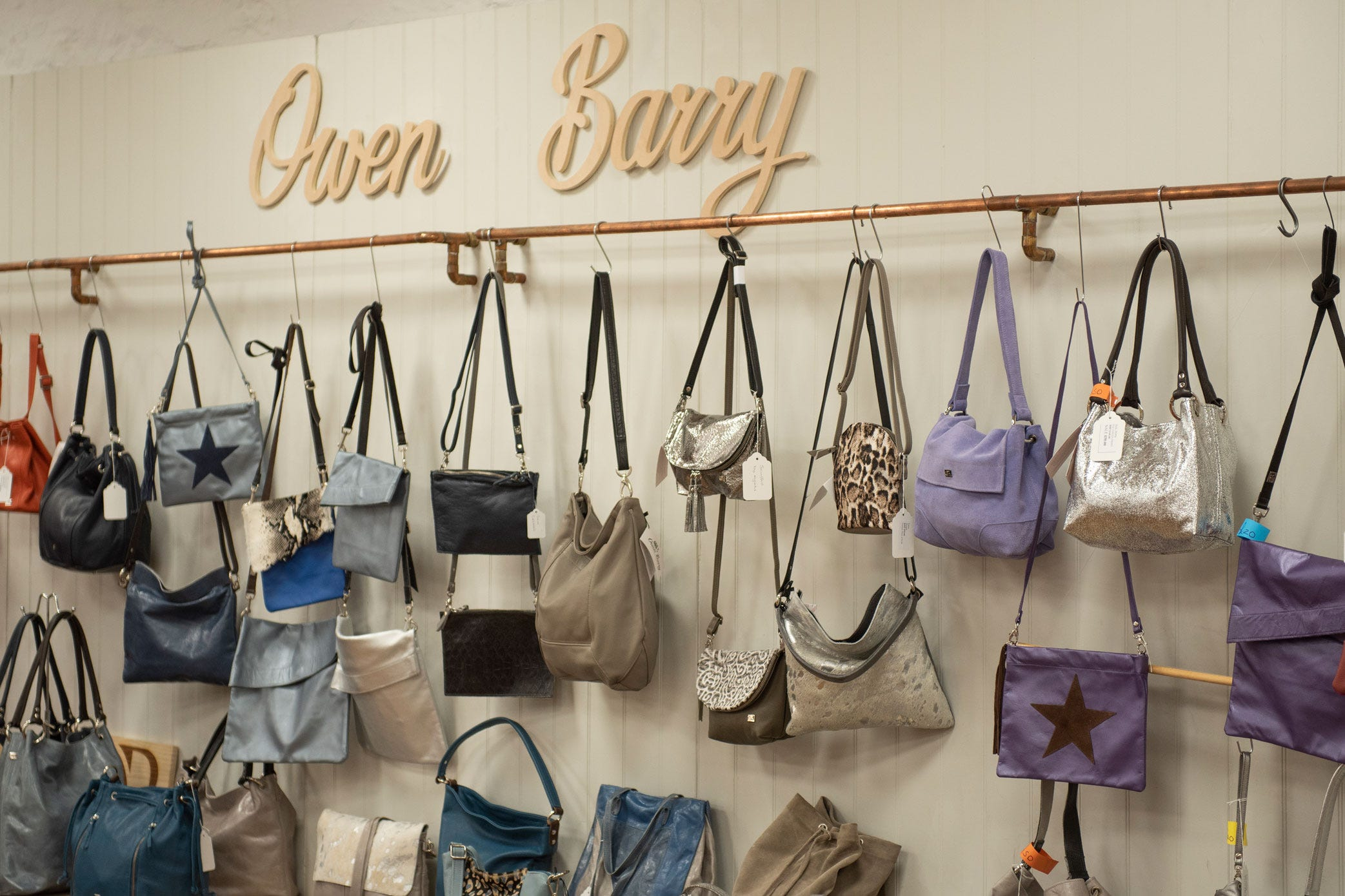 Owen Barry handbags
