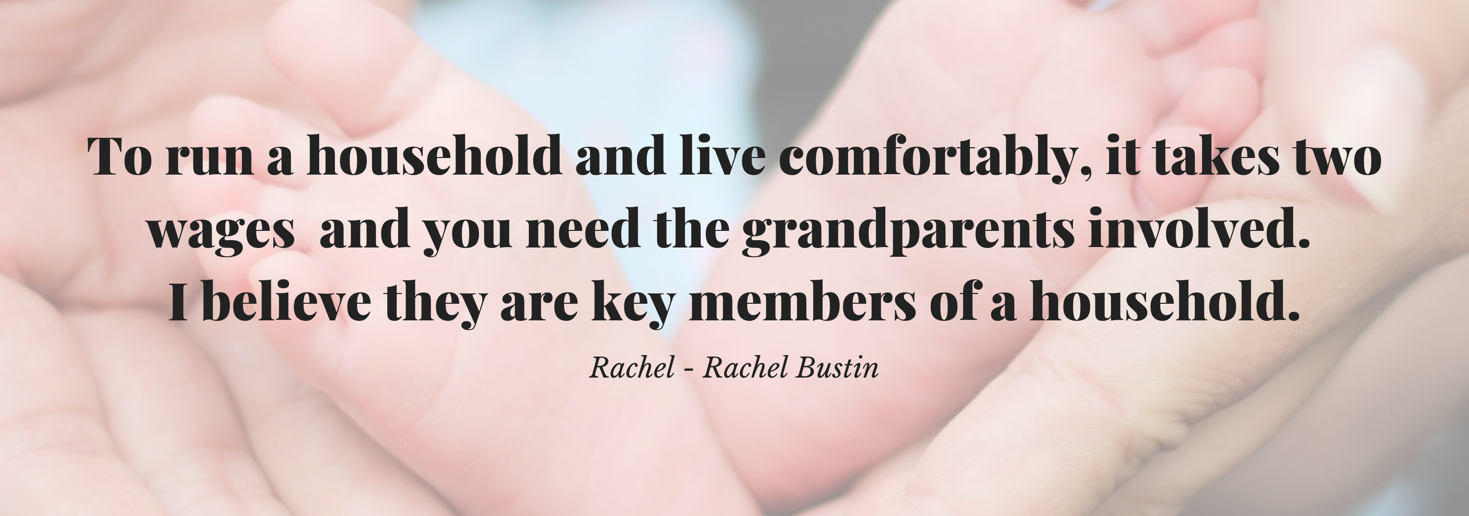 Quote from Rachel Bustin