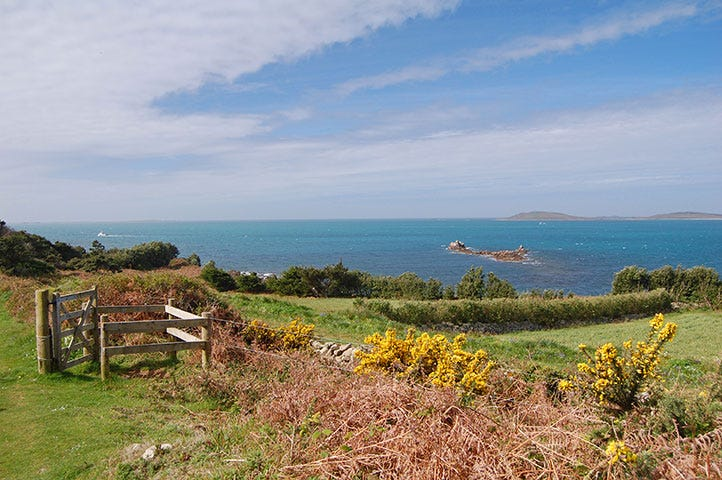 Coastal walk on the Island of Scilly
