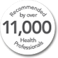 Recommended by over 11,000 Health Professionals