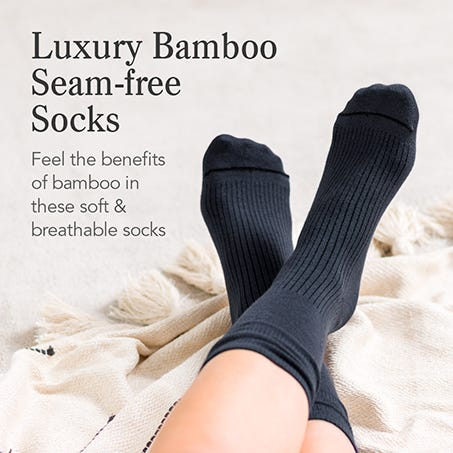 Luxury Bamboo Seam-free Socks