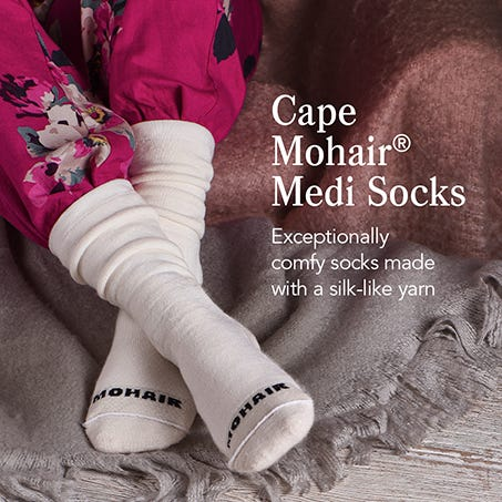 Cape Mohair® Medi Socks