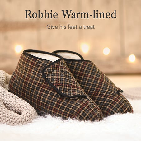 Robbie Warm-Lined - Give his feet a treat
