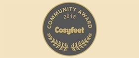 Cosyfeet Community Project Award