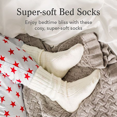 Super-soft Bed Socks