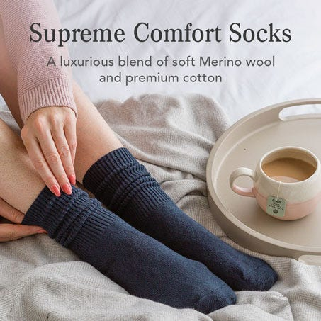 Supreme Comfort Socks