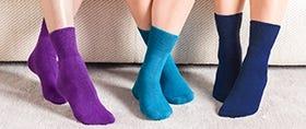 Terry Lined Comfort Socks