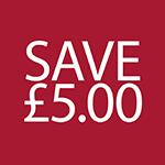 Save £5.00