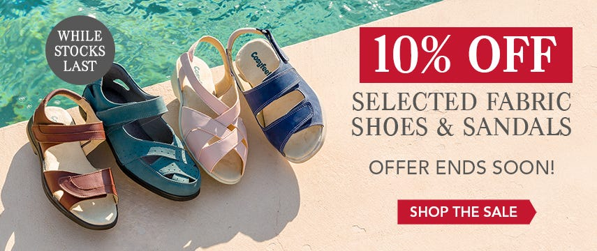 10% off selected styles ends soon!