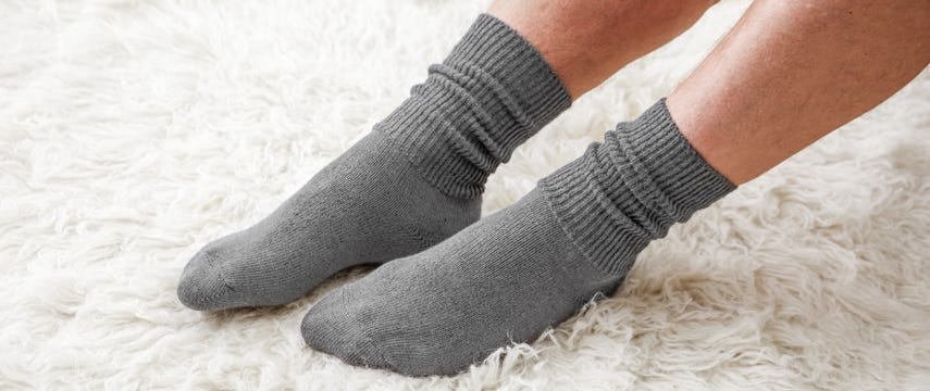 Seam-free comfort for sensitive feet