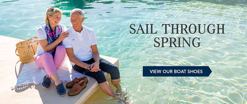 Sail through spring