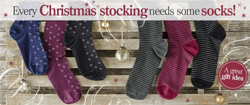 Every Christmas stocking needs some socks!
