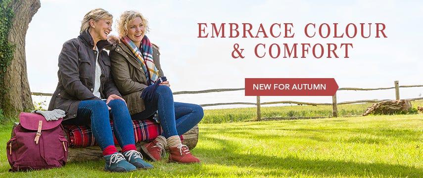 Embrace colour & comfort