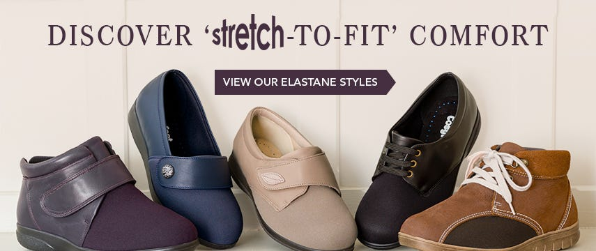 Discover 'stretch-to fit' comfort