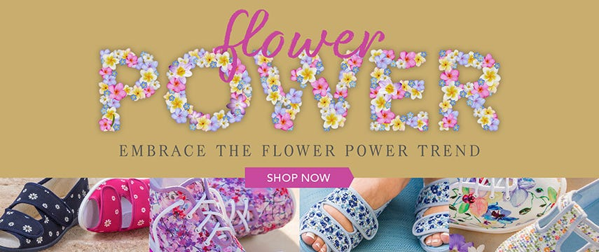 Embrace the flower power trend