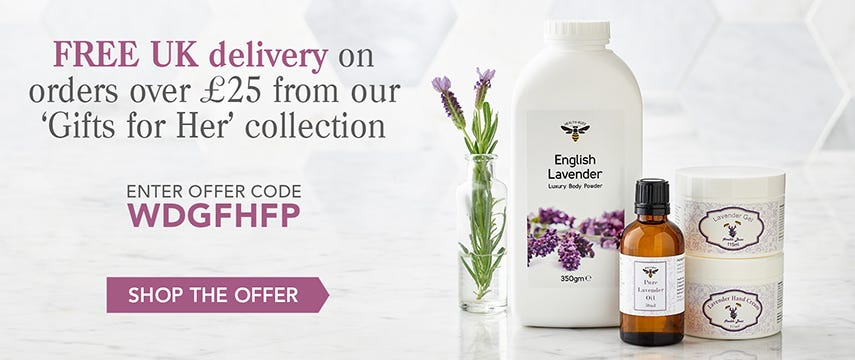 Free delivery on Gifts for Her!