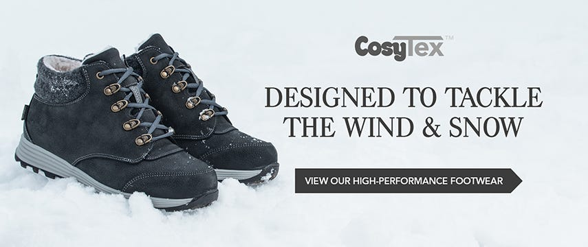 Designed to tackle the wind & snow