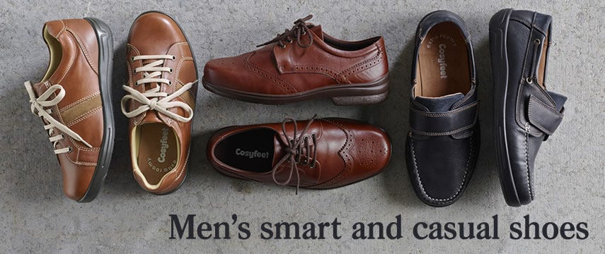 Men's smart & casual shoes