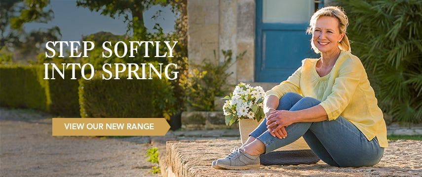 Step softly into spring