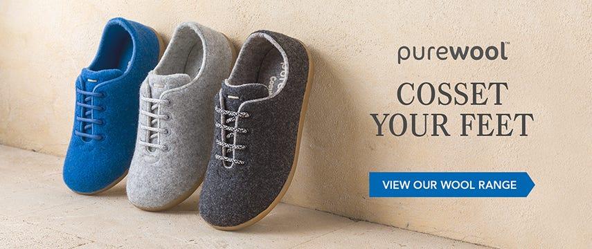 Cosset your feet