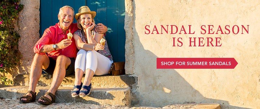 Sandal season is here