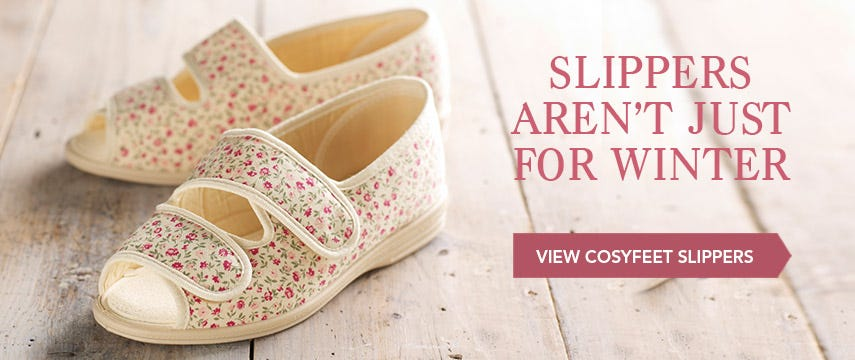 Slippers aren't just for winter!