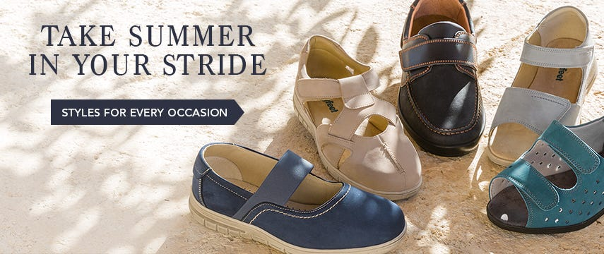 Take summer in your stride