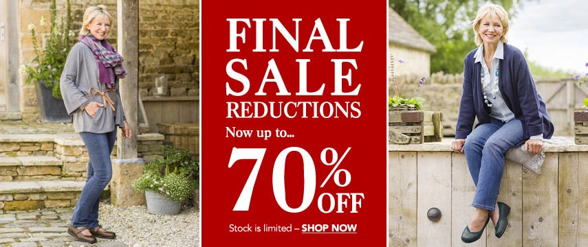 Final sale reductions!